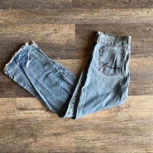 Lucky Brand Light Distressed Rockin Fender Jeans